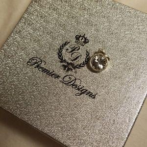 Premier Designs Crystal Charm NWT
